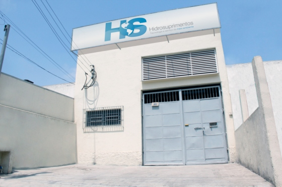 Galpão para montagem de Sistemas de Remediação HIDROSUPRIMENTOS